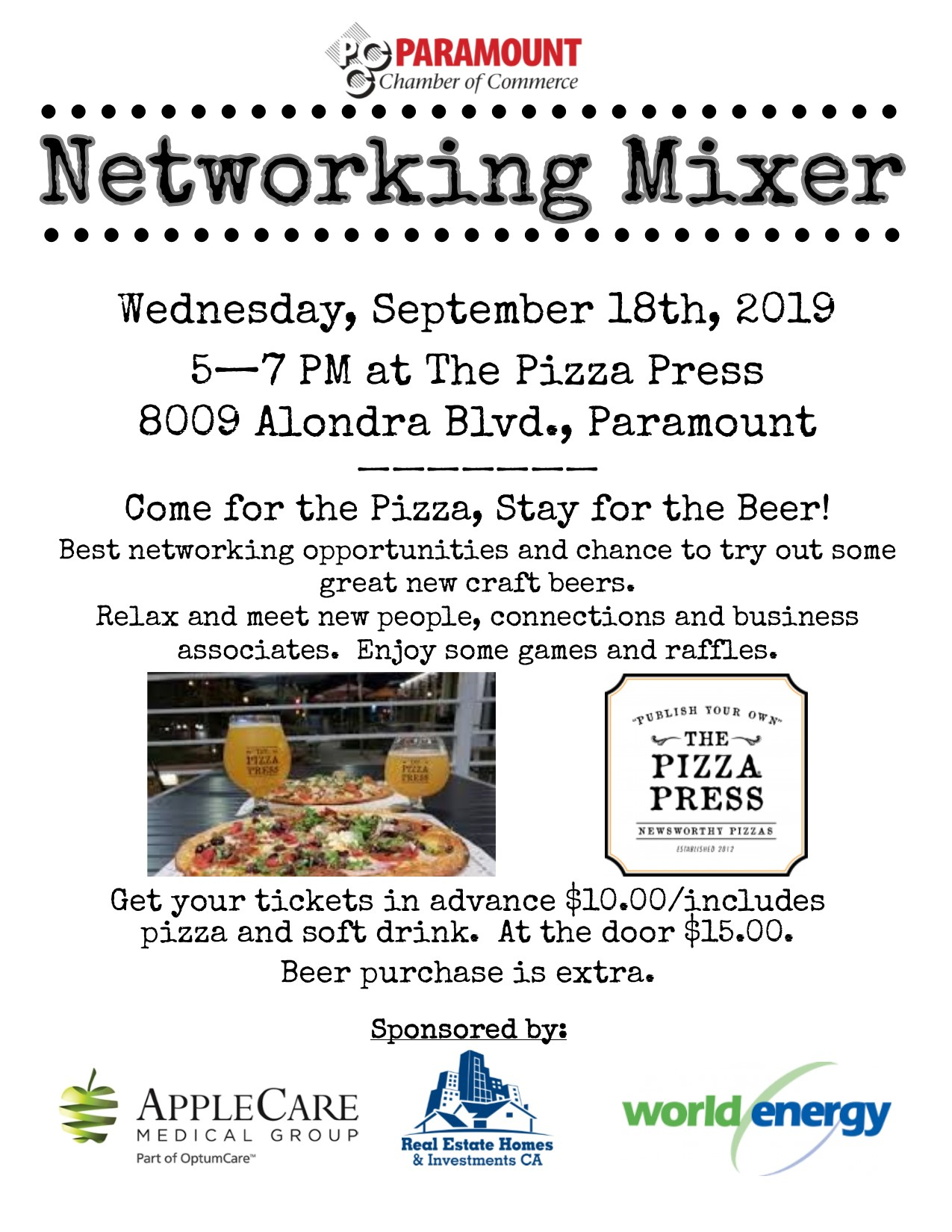03 Sept Mixer Pizza Press