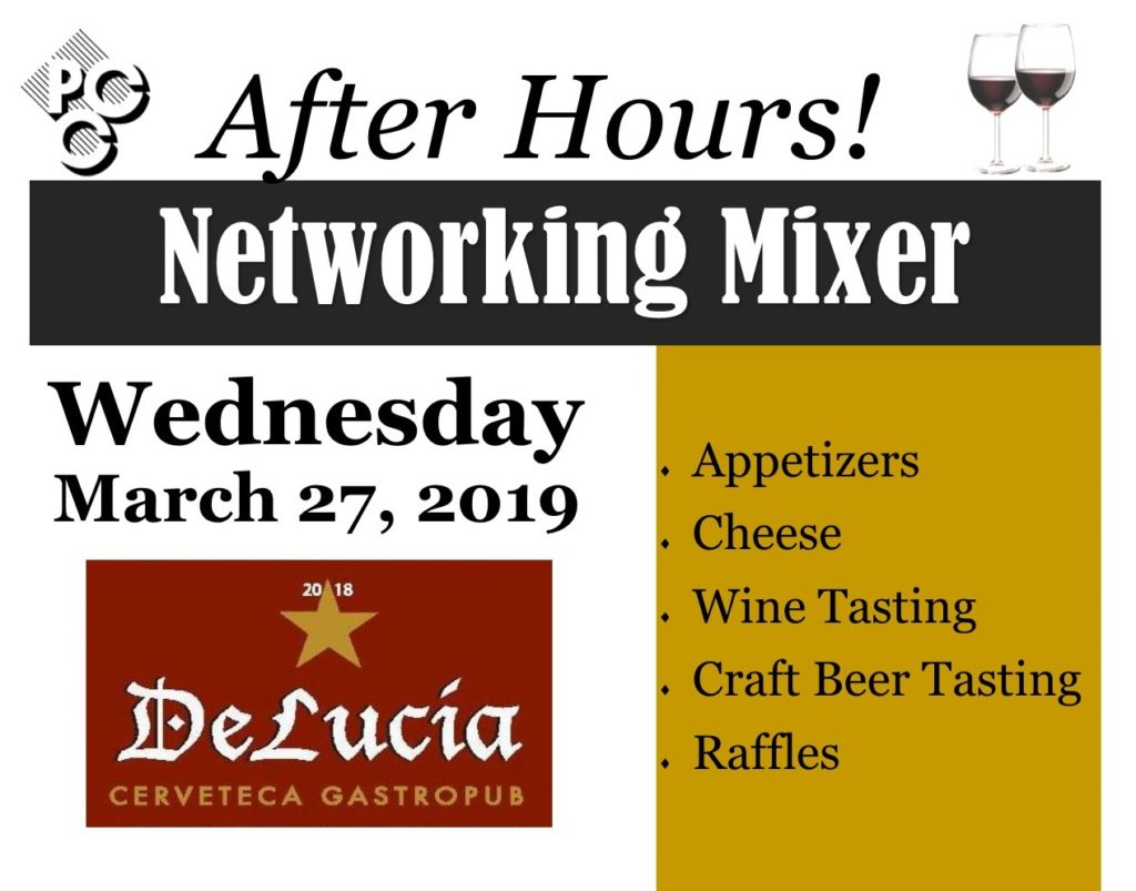 2019 March Mixer - DeLucia Banner
