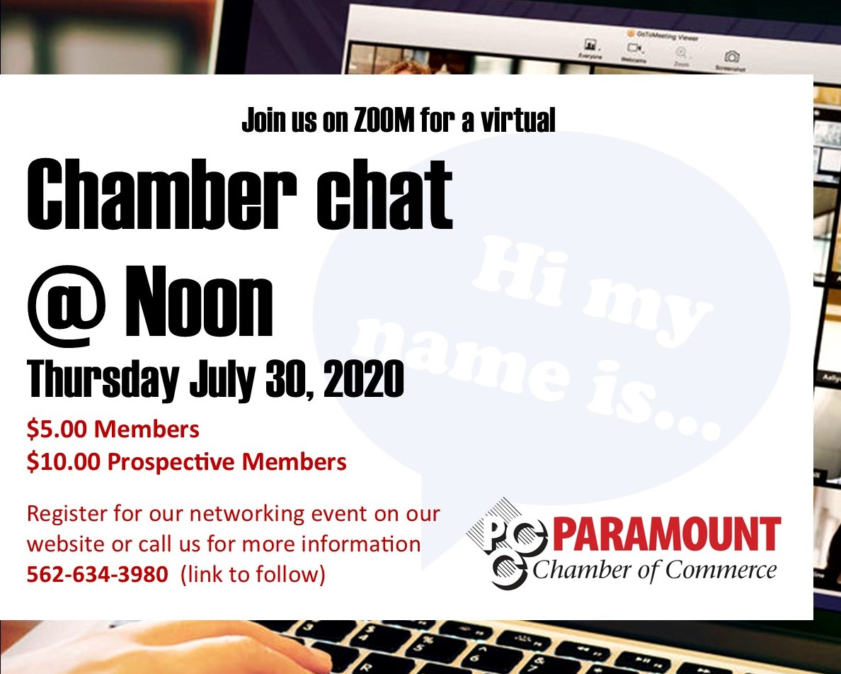 Chamber Chat Lunch CROPPED FLYER (JULY)