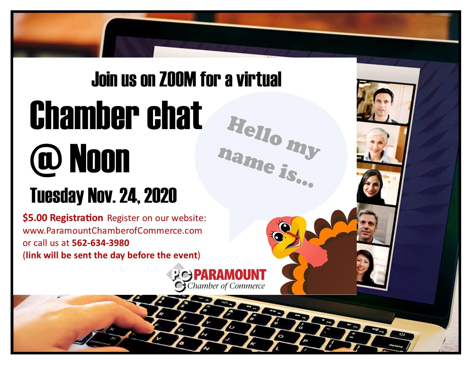 Chamber Chat Lunch NOVEMBER