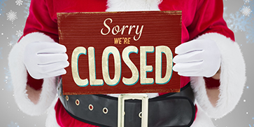Closed For Christmas 2020 Office Signs Office Closed   Christmas Eve Day   Paramount Chamber