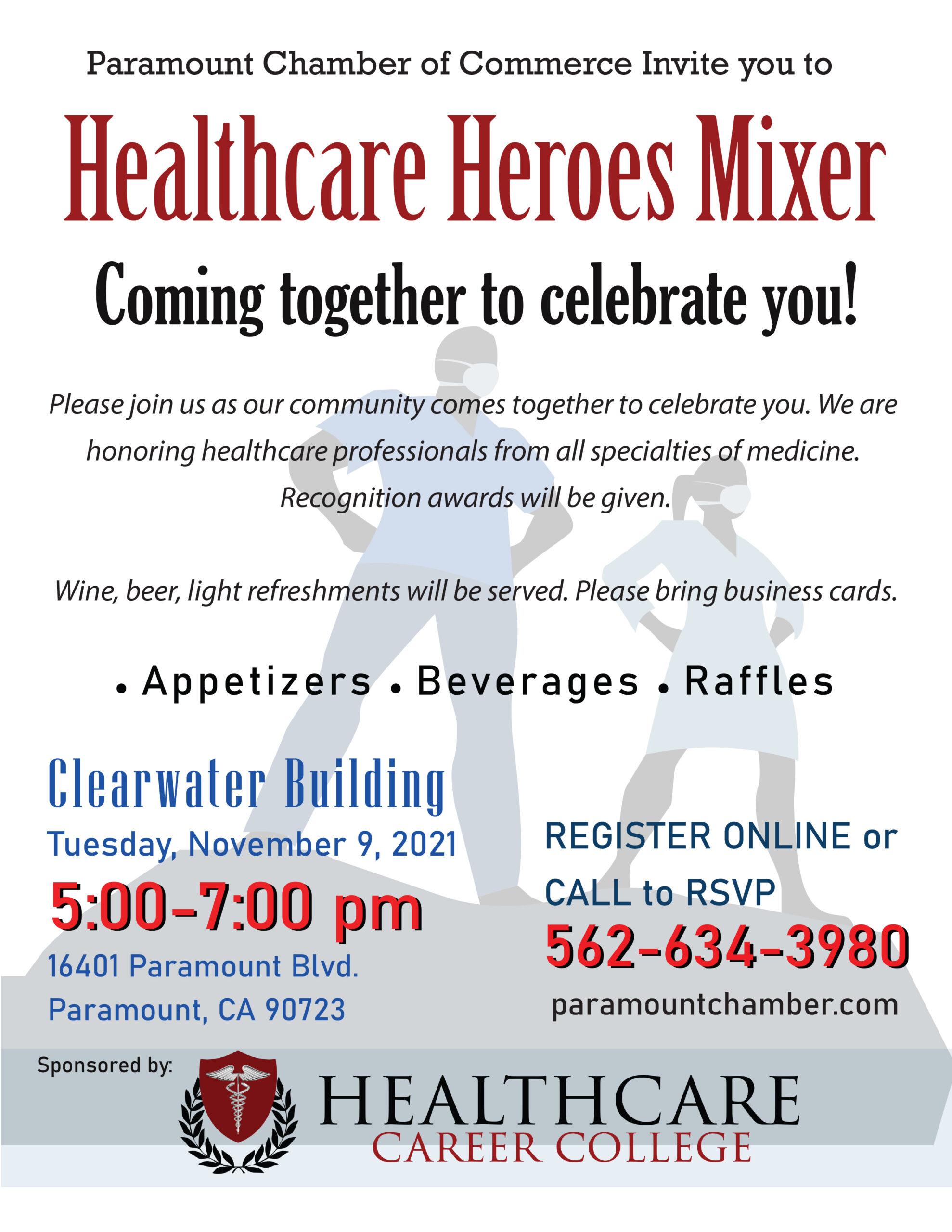 Healthcare Heroes Mixer_flyer