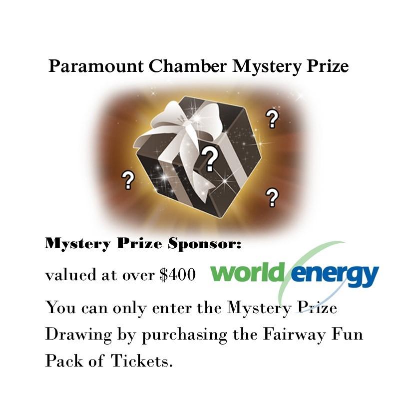 Mystery prize promo