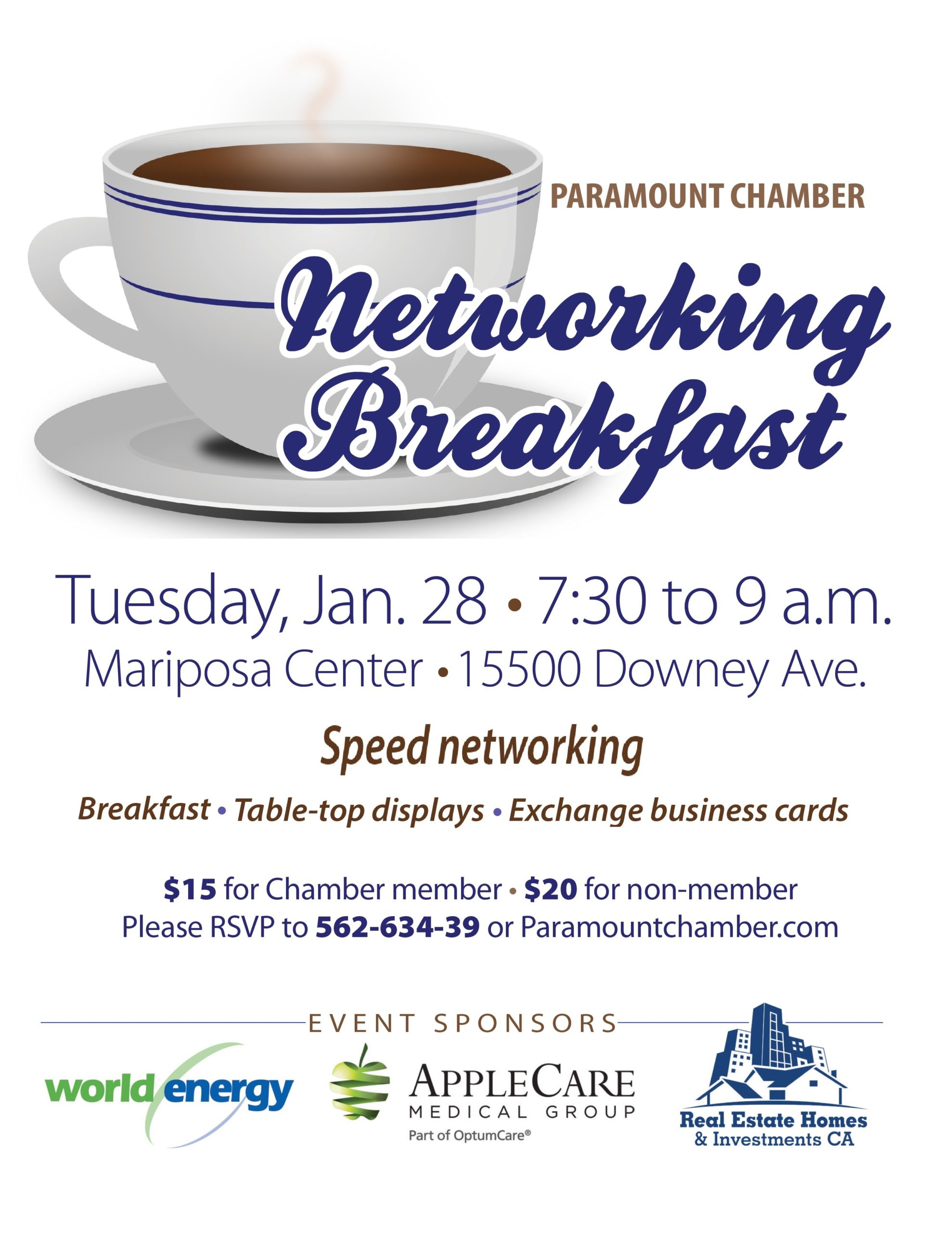 Networking Breakfast-Jan 2020 Modified