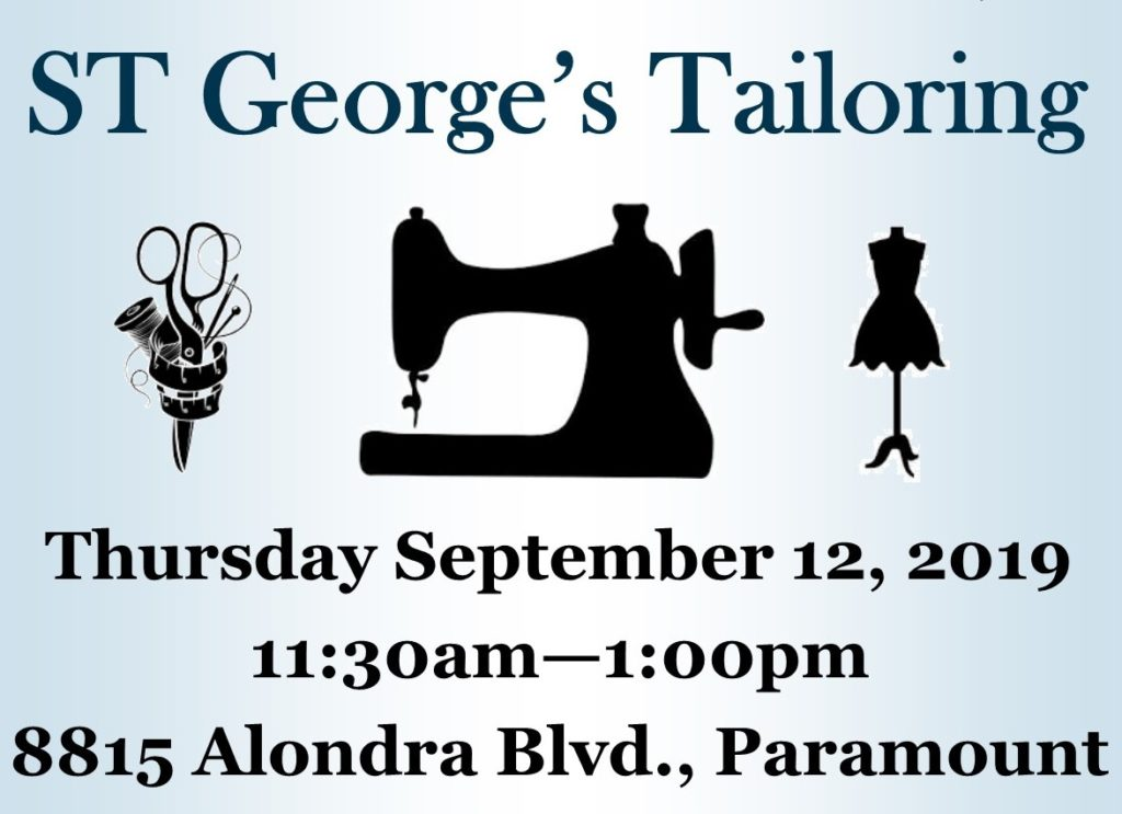 ST Georges Tailoring banner
