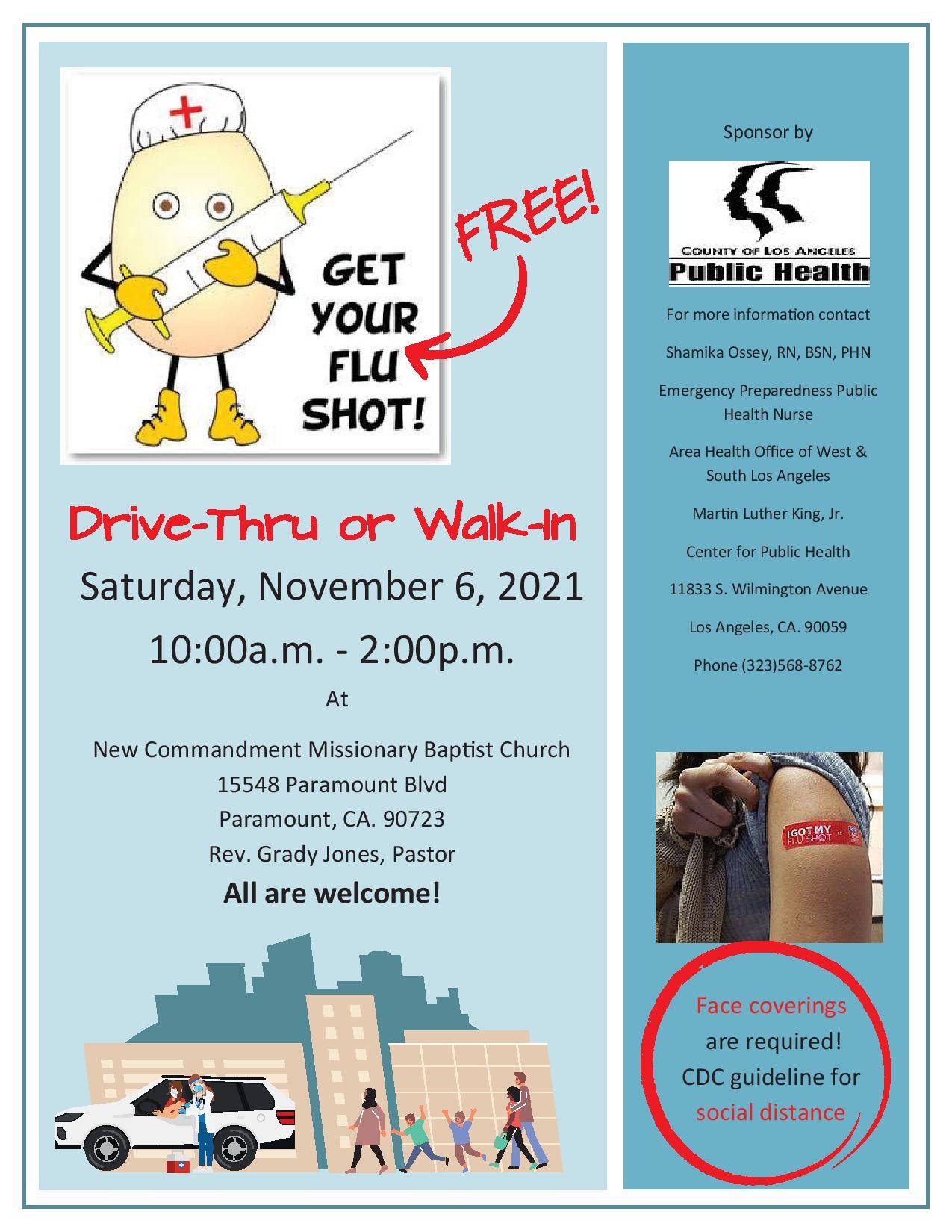Free Flu Shots!
