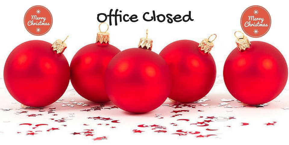 christmas office closing
